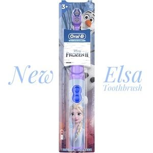 ✅ 5 for $25 - Frozen Toothbrush, Electric, 3+